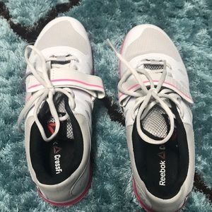 Never worn Reebok weight lifting CrossFit shoe
